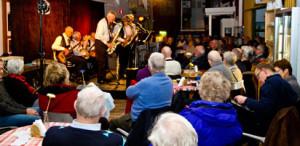 Begonia Jazzband på Repslagarmuseet i Älvängen.
