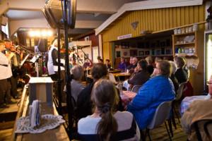 Miljöbild, med en del av publiken. 2013